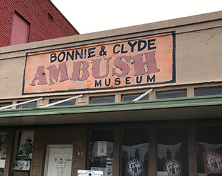 Bonnie and Clyde Museum - Staycation in Louisiana