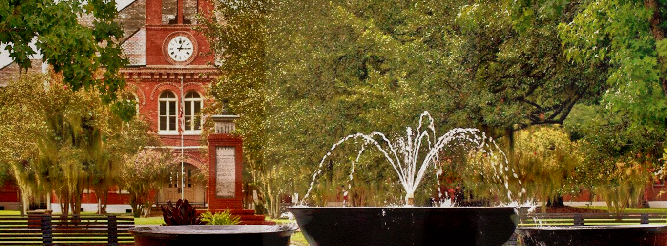 Courthouse Charm Itinerary waterfountain
